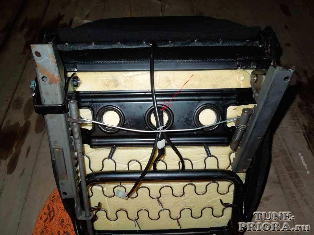 img 025 - Штатный обогрев сидений приора
