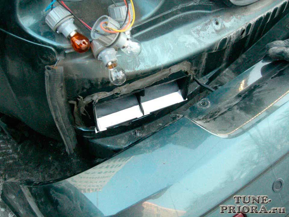 Доработка клапана вентииляции салона приоры