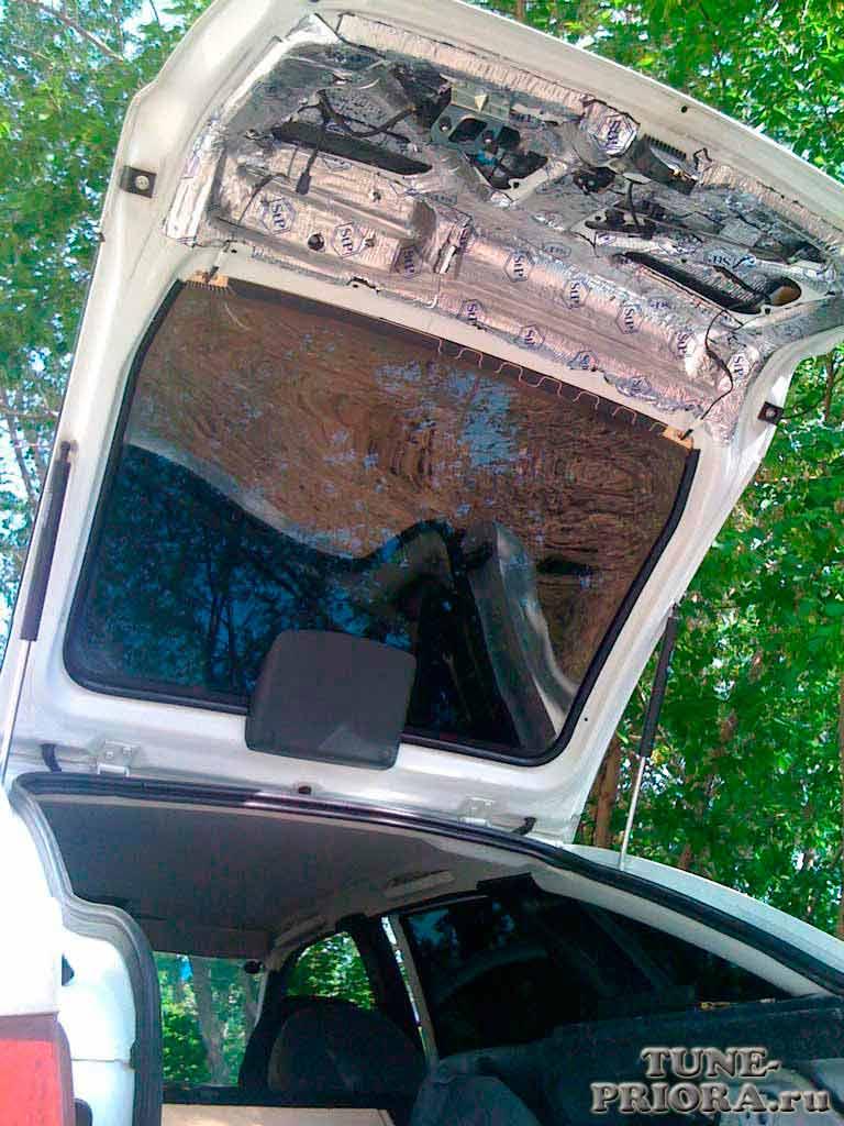 Автоматическая крышка багажника своими руками